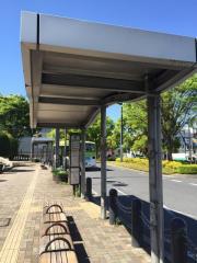 「東川口駅北口」バス停留所