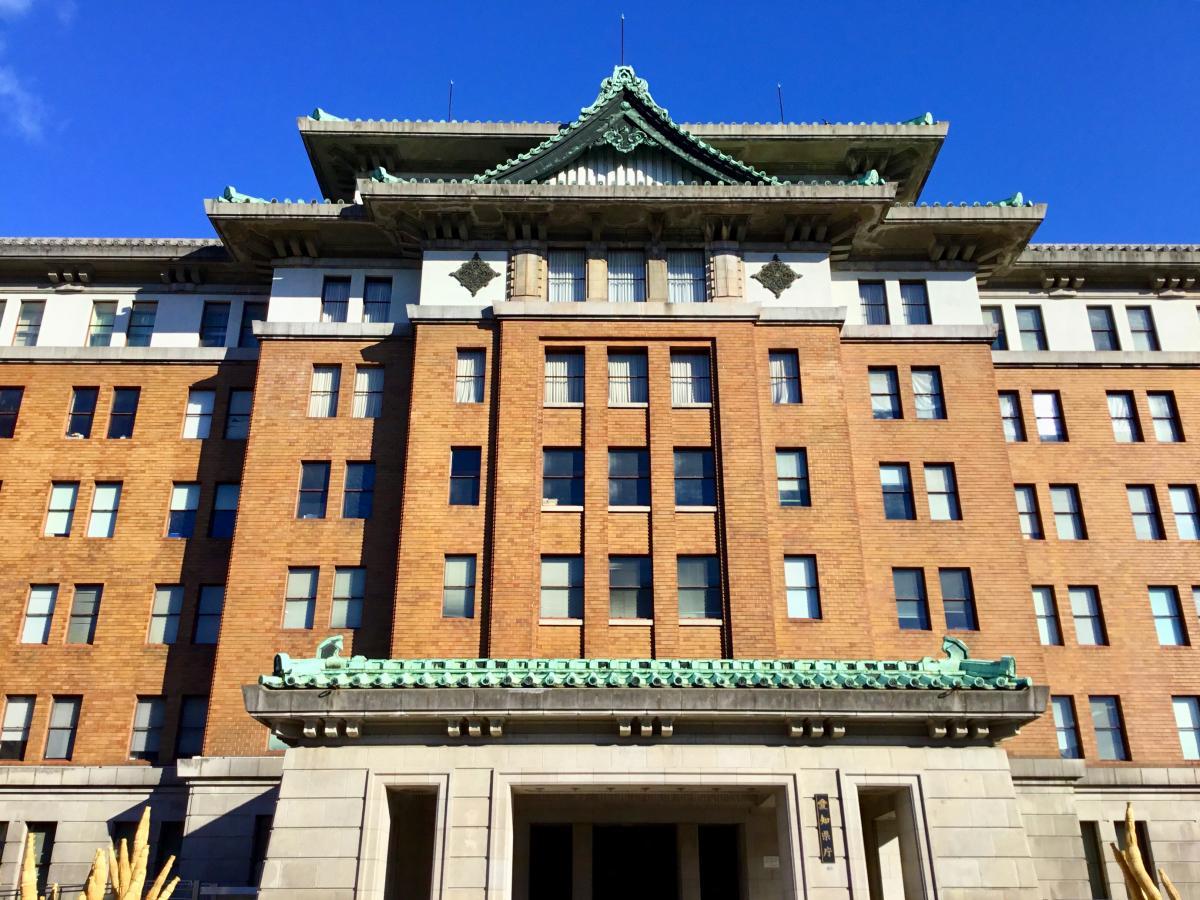 愛知県庁で撮影しました