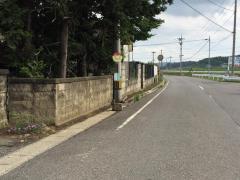 「蒲沢」バス停留所