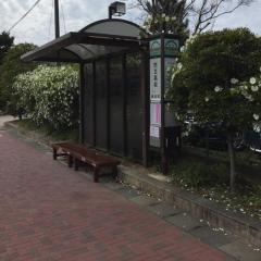「市立高校」バス停留所