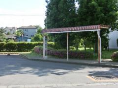 「東坂戸団地」バス停留所
