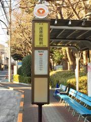 「荏原病院前」バス停留所