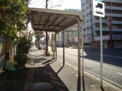 「柏戸病院」バス停留所
