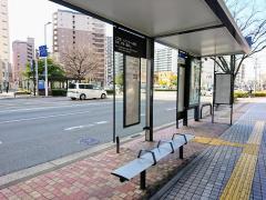 「千代町福豆屋店」バス停留所