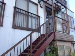 美濃加茂の民宿川桟敷