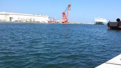 日立港新堤防