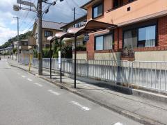「中島口」バス停留所