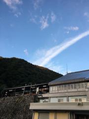「扇沢駅」バス停留所
