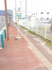 「食肉センター前」バス停留所