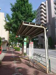 「御殿山」バス停留所