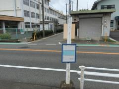 「旭陽小学校前」バス停留所