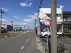 「山西」バス停留所