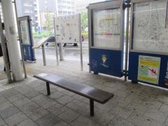「八潮駅北口」バス停留所