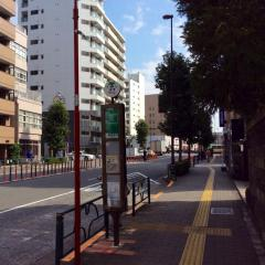 「蔵前駅前」バス停留所