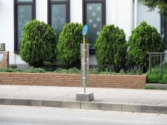 「南大通り中通病院前」バス停留所