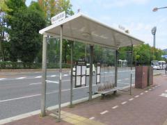 「岡山放送前」バス停留所