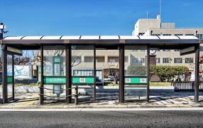 「住之江区役所前」バス停留所