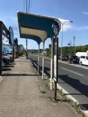 「天上橋」バス停留所