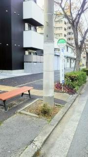 「立花小学校」バス停留所