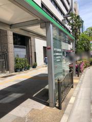「下谷神社前」バス停留所