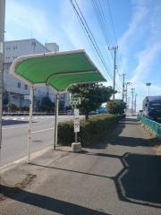 「かもめ大橋東詰」バス停留所