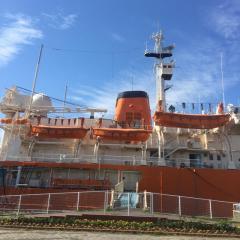 名古屋海洋博物館・南極観測船ふじ