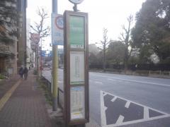 「上野公園」バス停留所