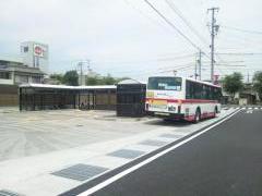 「北方百年記念通り」バス停留所