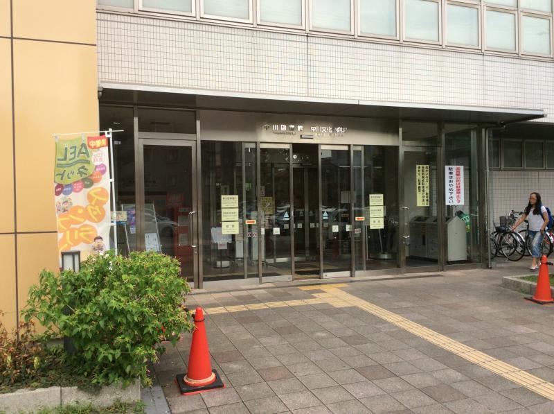 中川図書館ー外観