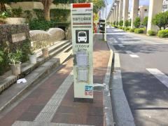 「那覇市立病院前」バス停留所