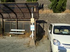 「ケアハウス青山苑前」バス停留所