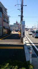 「安野屋町」バス停留所