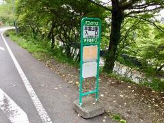 「早雲山駅入口」バス停留所
