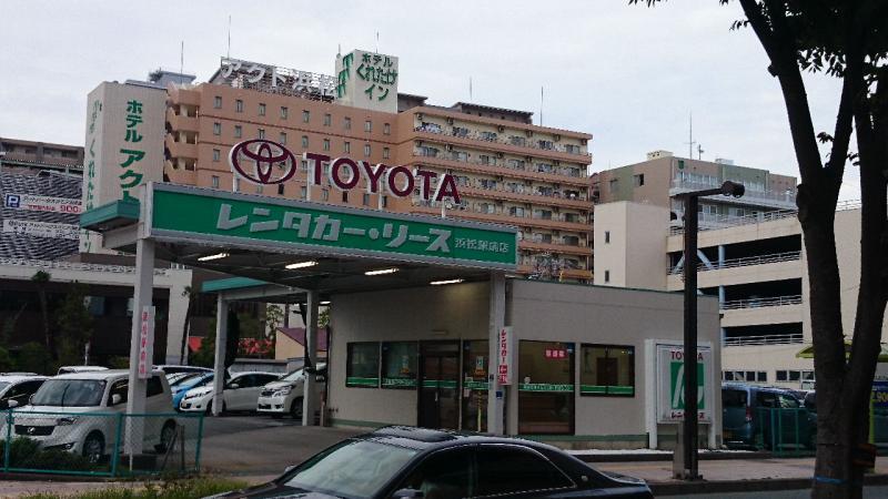 トヨタレンタリース浜松浜松駅前...