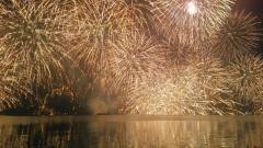 松江水郷祭 湖上花火大会