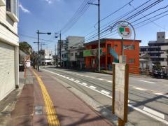 「愛宕山」バス停留所