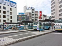「土浦駅」バス停留所