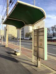 「住之江郵便局前」バス停留所