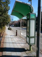 「南港中央公園」バス停留所