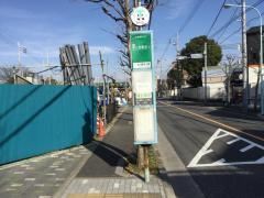 「古川親水公園」バス停留所