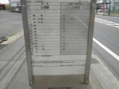 「木田余東台」バス停留所