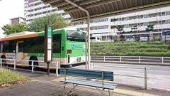「品川総合福祉センター前」バス停留所