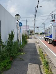 「中野林」バス停留所