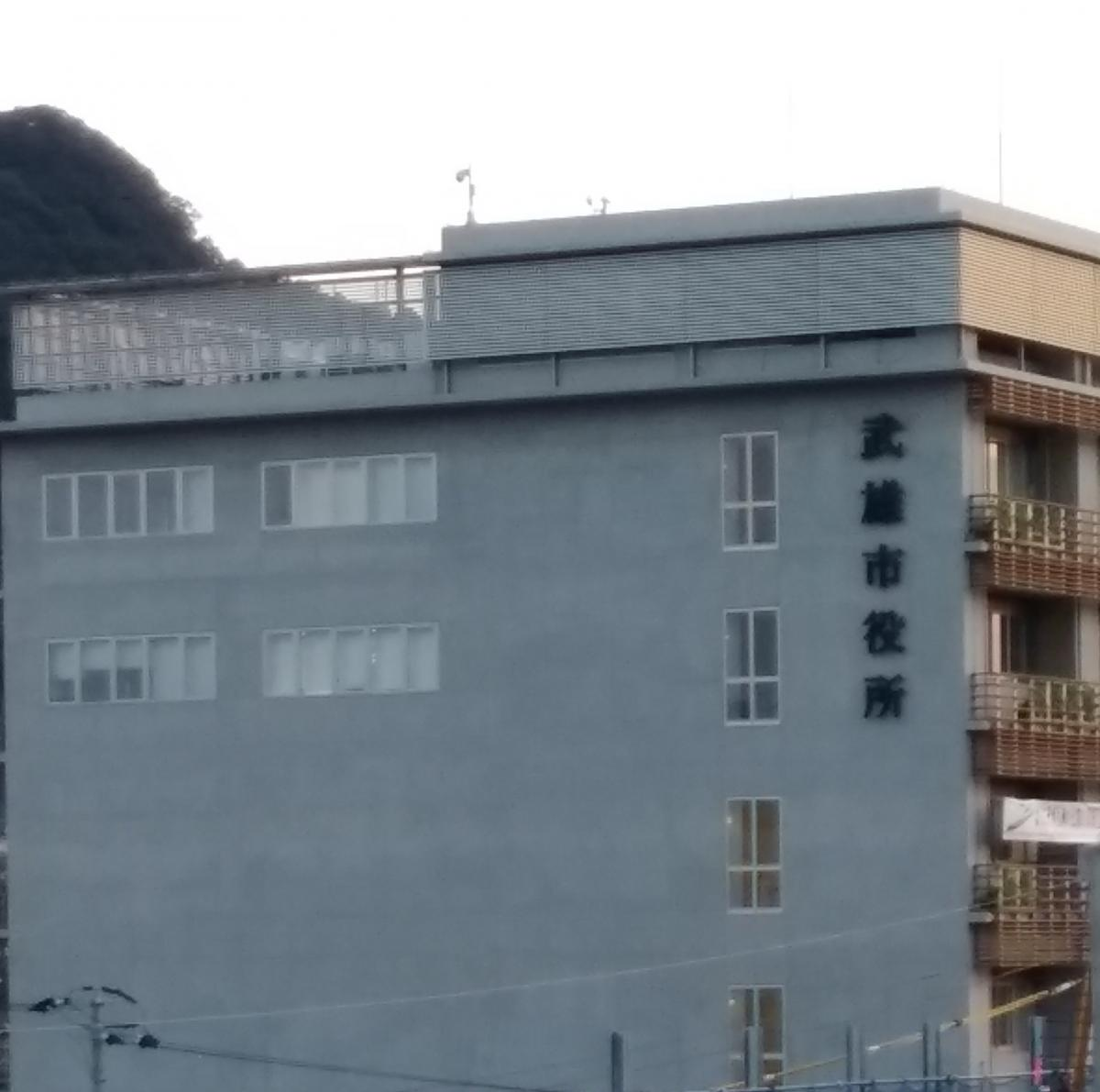 施設の外観です。