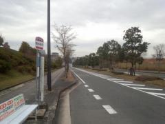 「関西光科学研究所」バス停留所