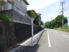 「泊浜」バス停留所