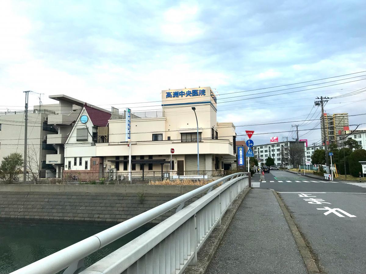 高洲中央医院の写真です。