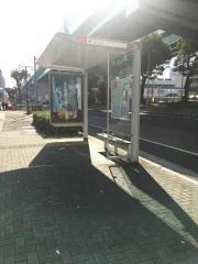 「円上」バス停留所