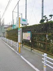 「長吉中学校前」バス停留所