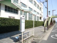 「北巽小学校前」バス停留所